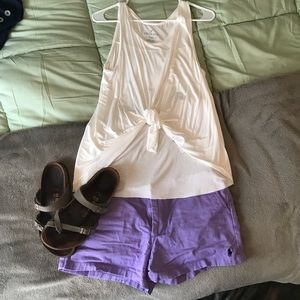 Purple Ralph Lauren Sport shorts